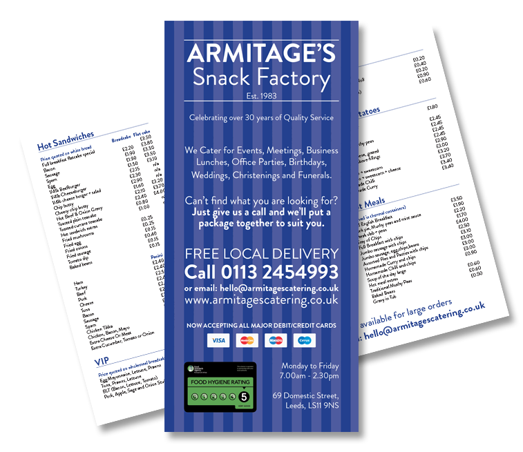 Armitages-Shop-Menu